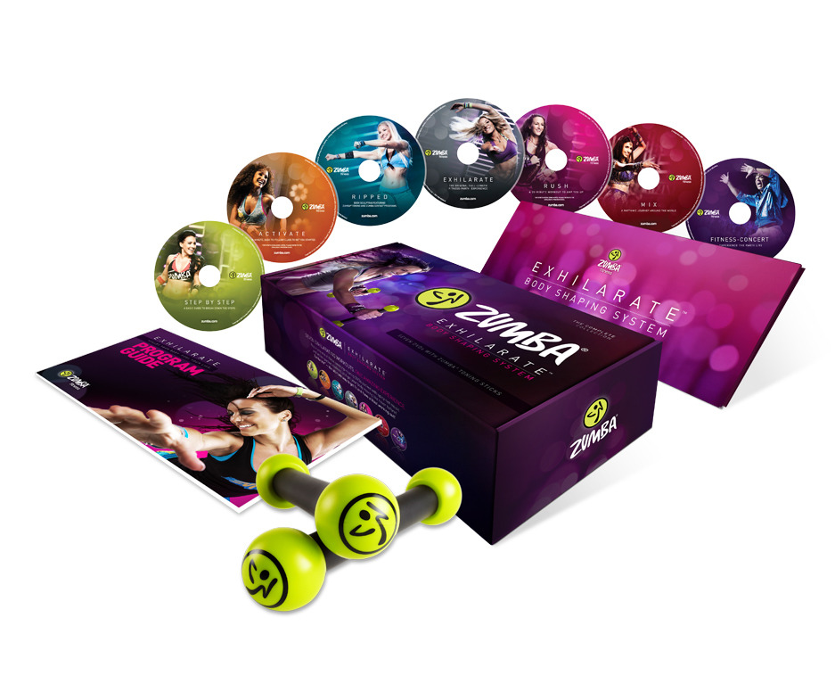 Zumba Fitness Exhilarate Dvd Zumba Exhilarate 7 Dvd Set