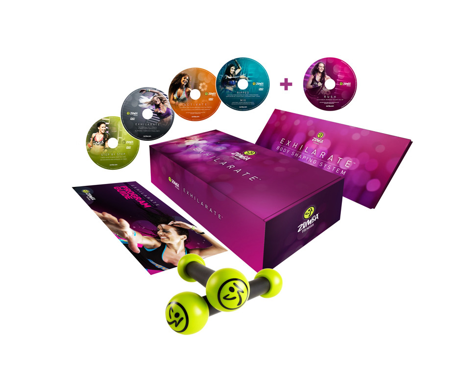 Zumba Fitness Exhilarate Dvd Zumba Exhilarate 4 Dvd Program