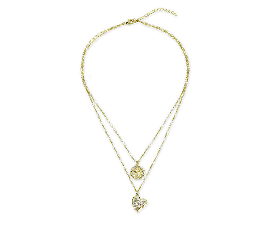 a75126091d2 Zumba Love Double Layer Necklace with Swarovski® Crystals | Zumba Fitness  Shop