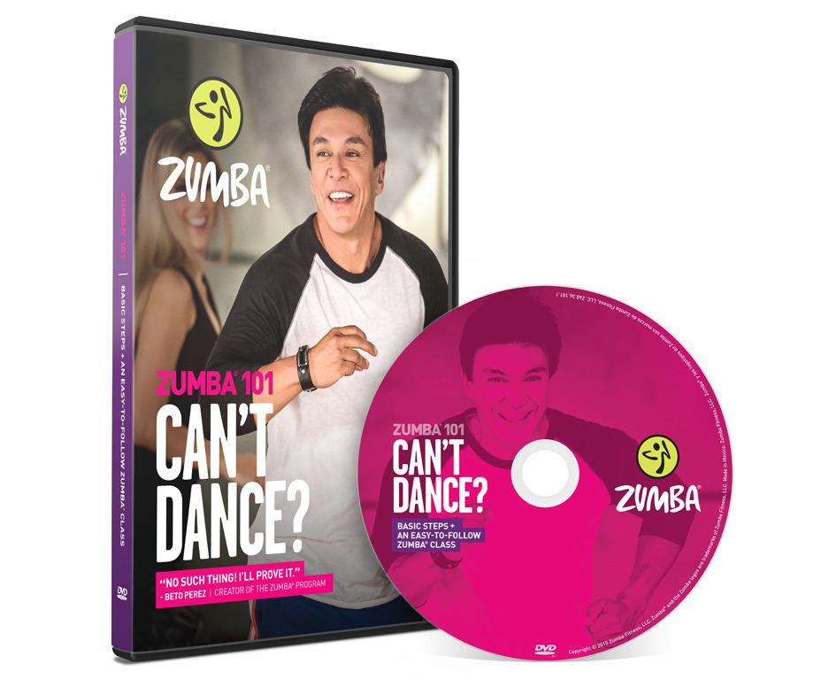 dvd zumba fitness
