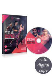 STRONG By Zumba DVD with digital copy
