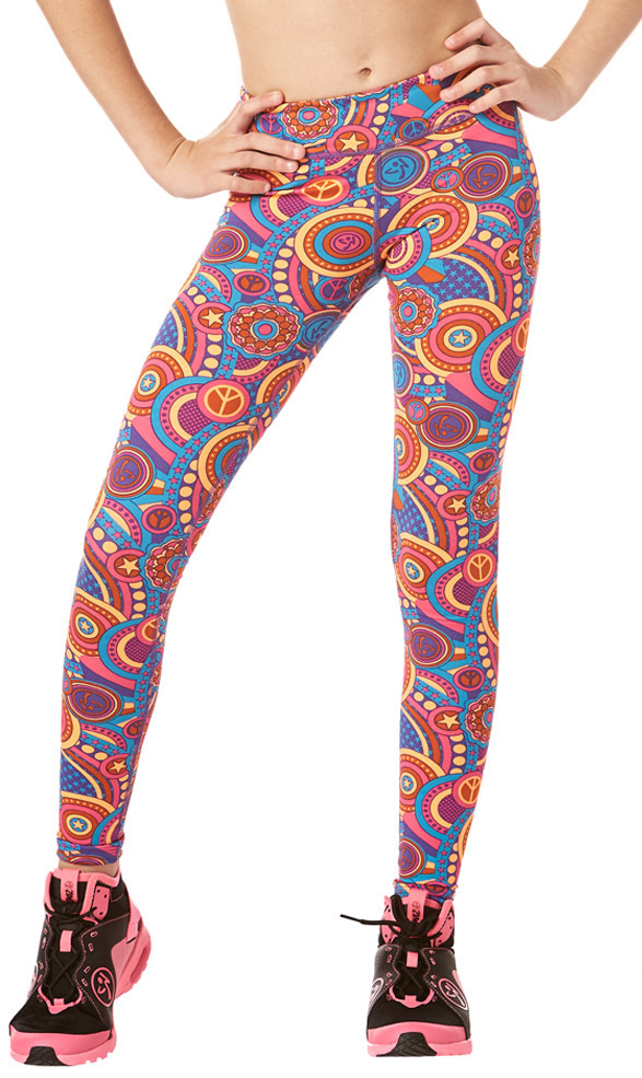 ZW Juniors - Zumba Peace Long Leggings