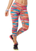 Treaded Capri Leggings