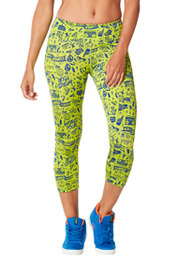 City Swag Perfect Capri Leggings