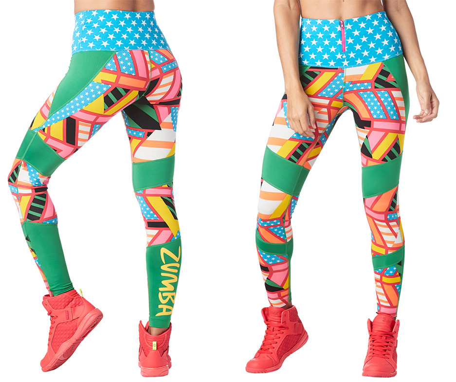750995ad0dc Zumba Victory High Waisted Ankle Leggings