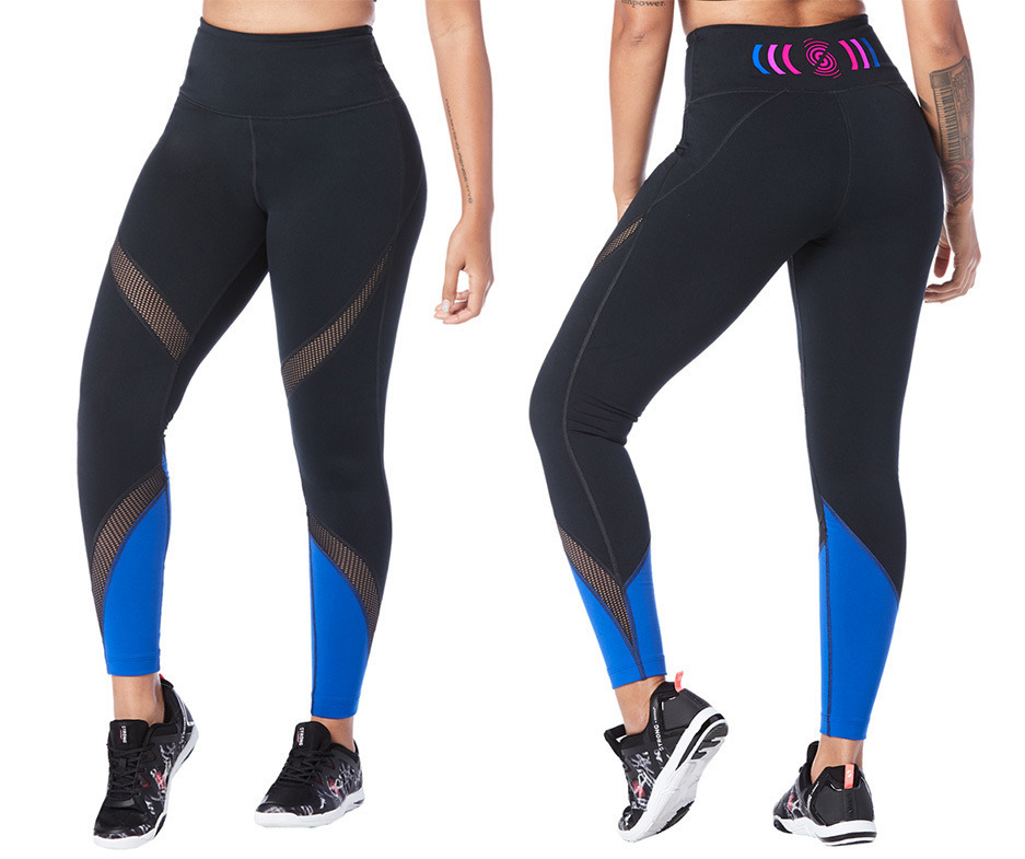 badd2f1c1595e2 Crushin' It High Waisted Ankle Leggings   Zumba Fitness Shop