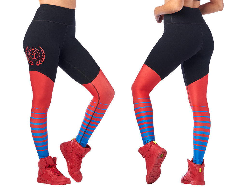 Zumba Sport High Waisted Long Leggings Toko Zumba Fitness