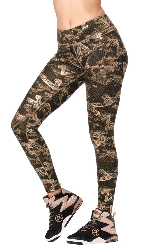 Zumba Mix It Up Perfect Ankle Leggings Toko Zumba Fitness