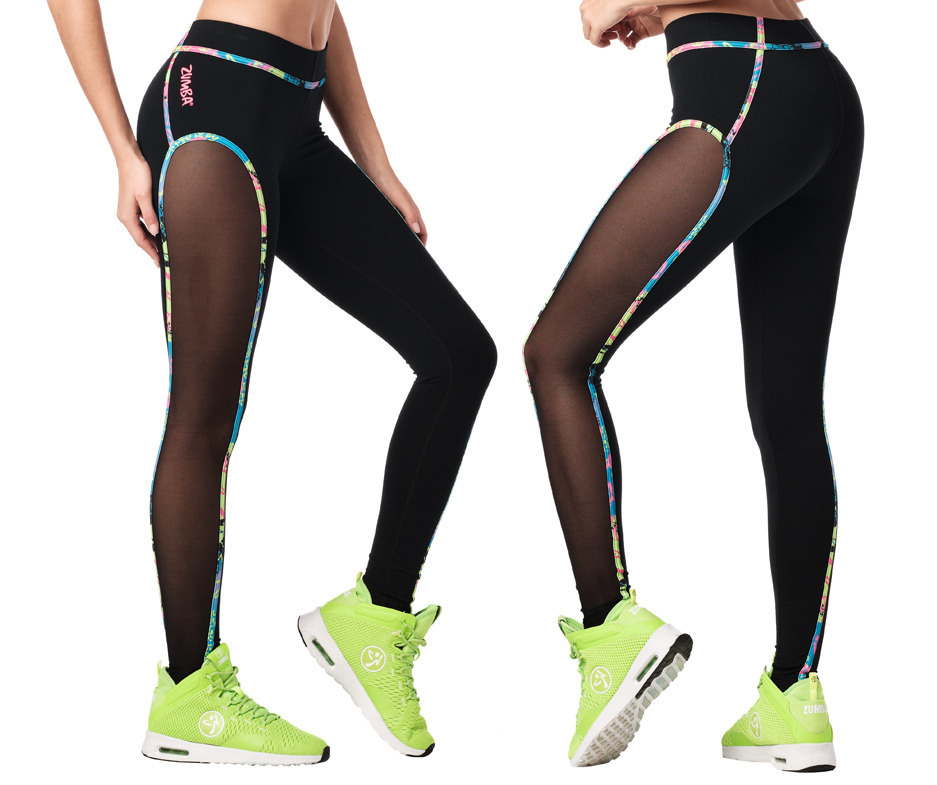 Zumba Original Flow Panel Ankle Leggings Toko Zumba Fitness