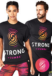 STRONG By Zumba Graphic Tee