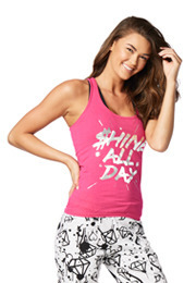 Shine All Day Racerback