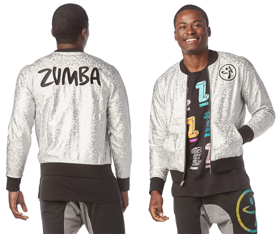 Zumba Shine So Bright Bomber Jacket