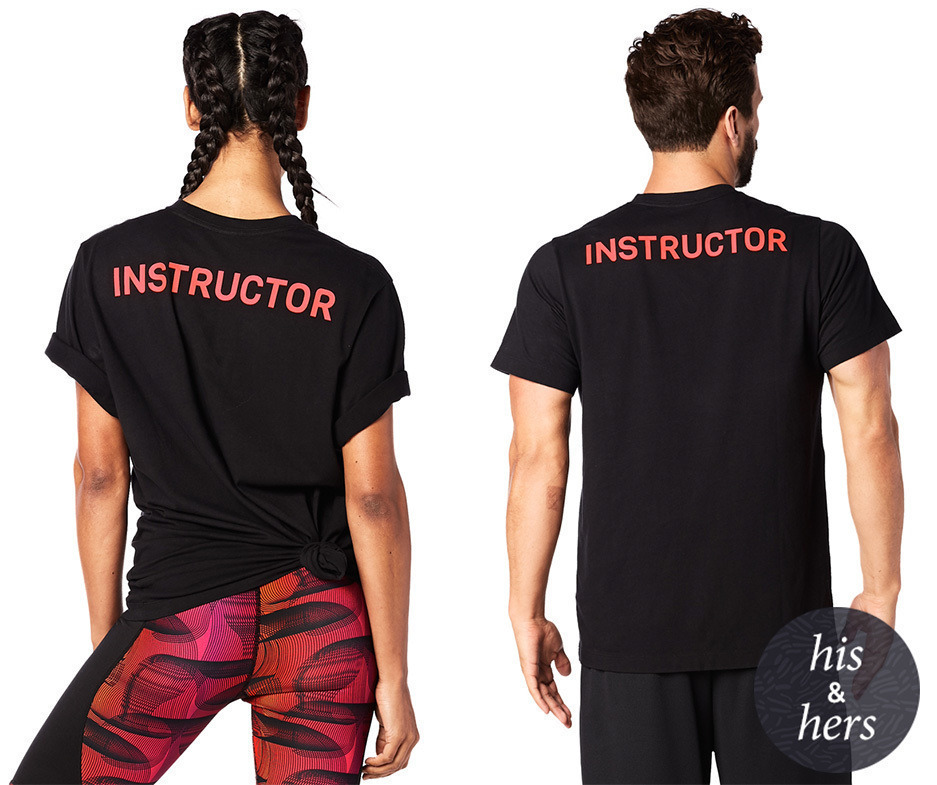 XS//S Zumba Strong Unisex Instructor Tee