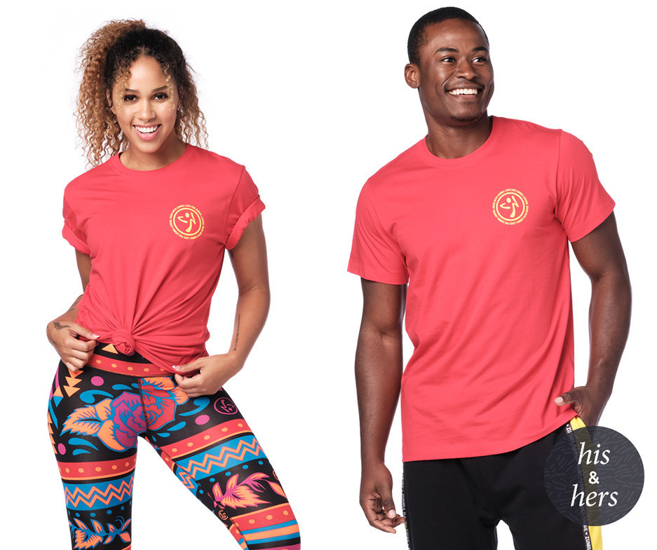 Zumba Fitness from A-to-Crewneck Tee