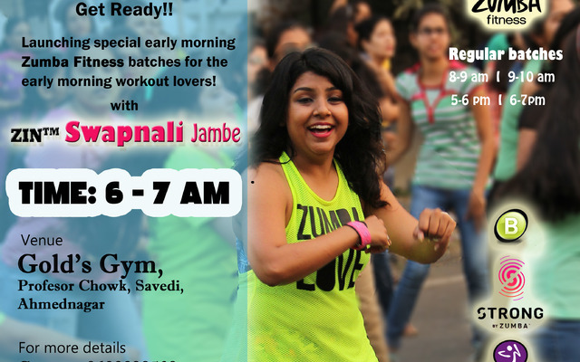Zumba Class Swapnali Ahmednagar At With Gold's Jambe Gym